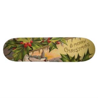 A Merry Christmas Skate Deck
