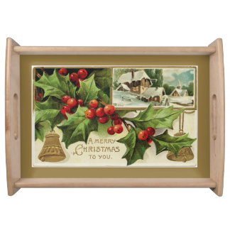 A Merry Christmas to You Serving Tray