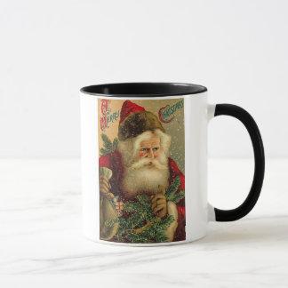 A Merry Christmas Vintage Santa