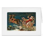 A Merry Christmas Vintage Santa Cards