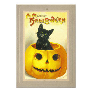 A Merry Hallowe'en Art Photo