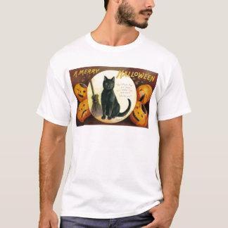 A Merry Halloween - Ellen Clapsaddle T-Shirt