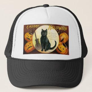 A Merry Halloween - Ellen Clapsaddle Trucker Hat