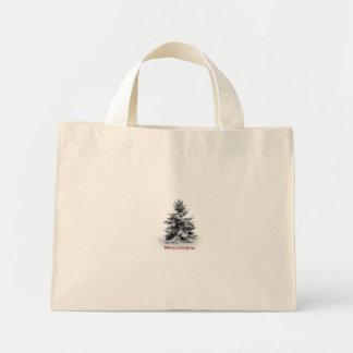 A Merry Little Christmas Mini Tote Bag