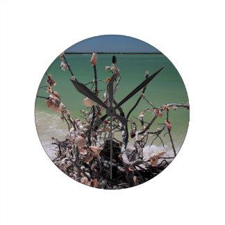 A Merry Milonga Round Clock