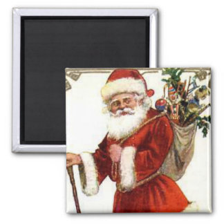 A Merry Xmas Square Magnet