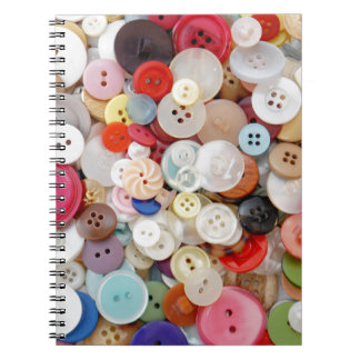 A Mess of Buttons Notebook