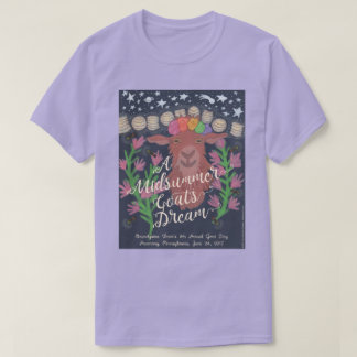 A Midsummer Goat's Dream t-shirt