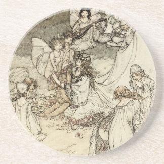 A Midsummer Night s Dream Fairy Sandstone Coaster Drink Coaster