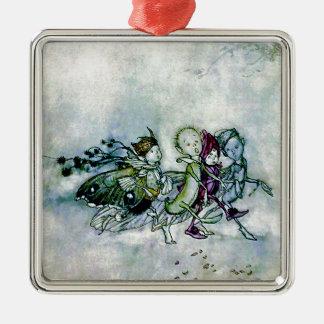 A Midsummer Night's Dream Fairies Metal Ornament