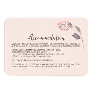 A Midsummer Night's Dream Hotel Enclosure Card 9 Cm X 13 Cm Invitation Card