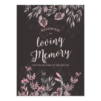 A Midsummer Night's Dream In Memory Of Sign 17 Cm X 22 Cm Invitation Card