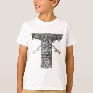 A Mighty Tree Cover B&W T-Shirt