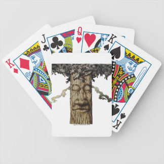 A  Mighty Tree Cover Bicycle Playing Cards