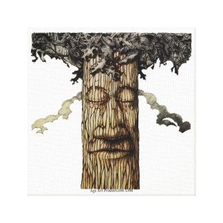 A  Mighty Tree Cover Canvas Print