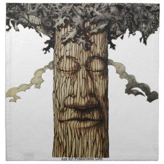 A  Mighty Tree Cover Napkin
