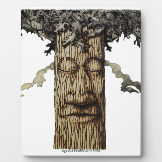 A  Mighty Tree Cover Page Display Plaques
