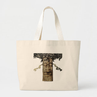 A  Mighty Tree Cover Page Large Tote Bag