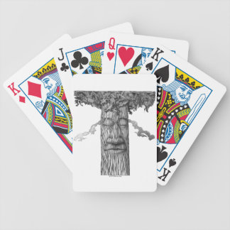 A Mighty Tree Cover &W Bicycle Playing Cards