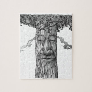 A Mighty Tree Cover &W Jigsaw Puzzle