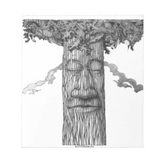 A Mighty Tree Cover &W Notepad