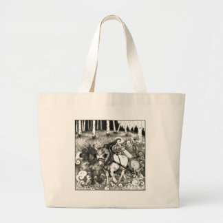 A-MIGHTY-TREE-P14 Orig. Large Tote Bag