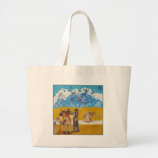A-MIGHTY-TREE-P48 LARGE TOTE BAG