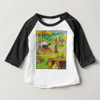 A-MIGHTY-TREE-P56 BABY T-Shirt