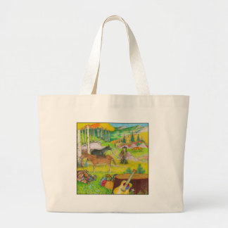 A-MIGHTY-TREE-P56 LARGE TOTE BAG