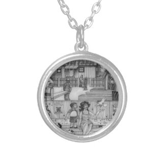 A-MIGHTY-TREE-Page 24 Silver Plated Necklace