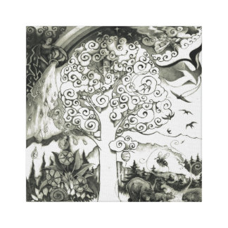 A-MIGHTY-TREE-Page 2 Canvas Print