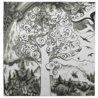 A MIGHTY TREE Page 2 Napkin