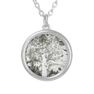 A-MIGHTY-TREE-Page 2 Silver Plated Necklace