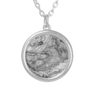 A-MIGHTY-TREE-Page 52 Original Silver Plated Necklace