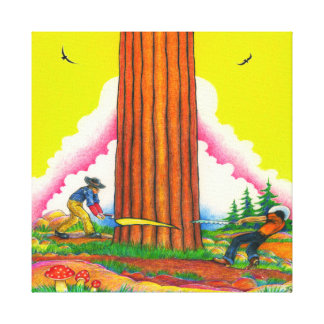 A-MIGHTY-TREE-Page 8 Canvas Print
