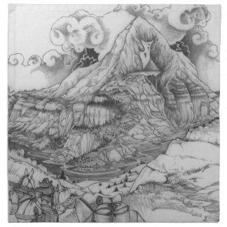 A MIGHYTY TREE Page 52 Napkin