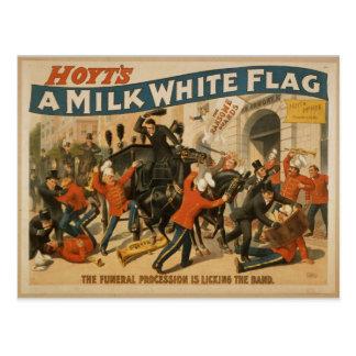 A Milk White Flag Post Card