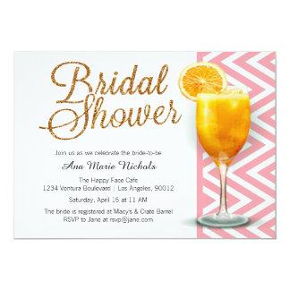 A Mimosa Bridal Shower Brunch 13 Cm X 18 Cm Invitation Card