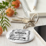A Mind Opened by Wonder Basic Round Button Key Ring