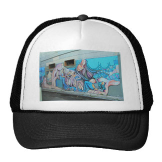 A Mission District Mural Cap