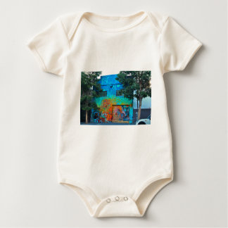 A Mission District Mural II Baby Bodysuit