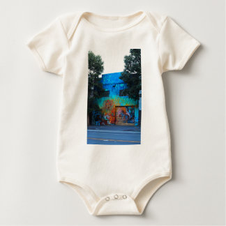 A Mission District Mural III Baby Bodysuit