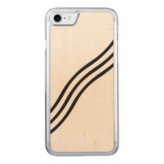 A Modern Abstract Wave Pattern Carved iPhone 8/7 Case