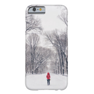 A Modern Little Red Riding Hood in Central Park Barely There iPhone 6 Case