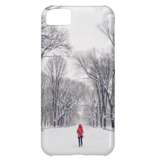 A Modern Little Red Riding Hood in Central Park iPhone 5C Case