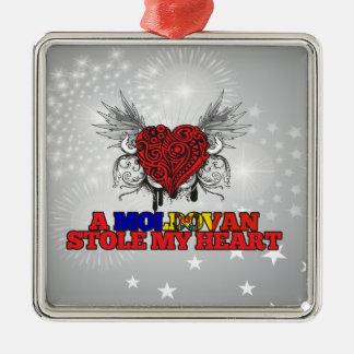 A Moldovan Stole my Heart Christmas Ornaments