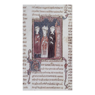 A Monk, a Bishop and an Abbot Poster