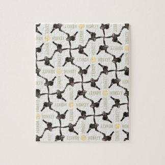 A Monkey Scene Jigsaw Puzzle