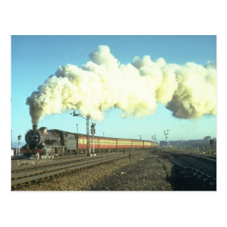 A morning commuter train for Port Elizabeth passes Post Card