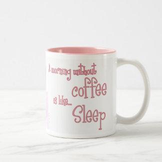 A Morning Without Coffee is Like Sleep Coffee Mug
